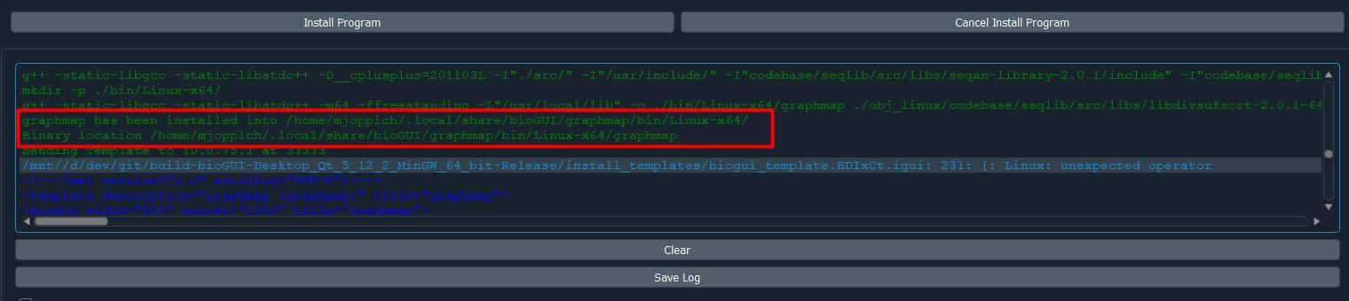 User Guide — bioGUI documentation